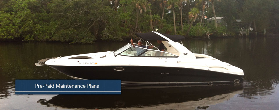 We provide prepaid maintenance plans