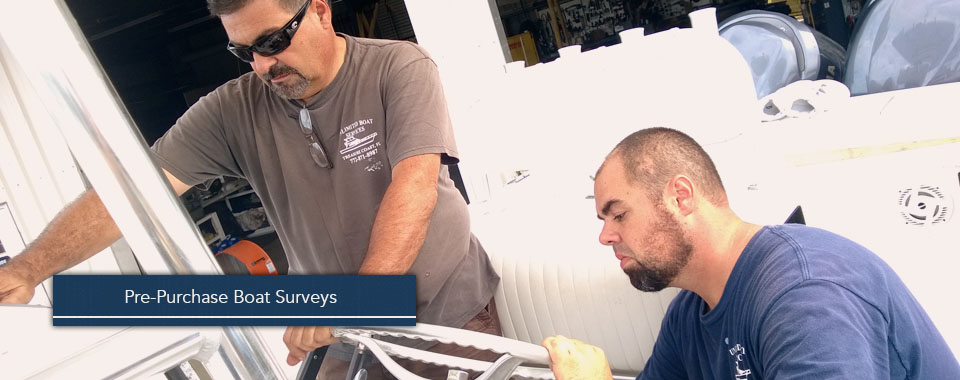 We lend our years of experience to pre-purchase surveys so you can buy with confidence!